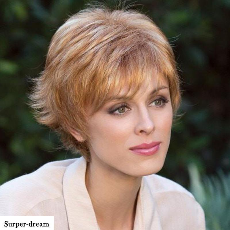 Autumn Extra-Thick Short Wig-011