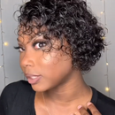 SUPER NATURAL HEAVY FULL CURLY SHORT HAIR WIG-2020 NEW YEAR'S SALE!