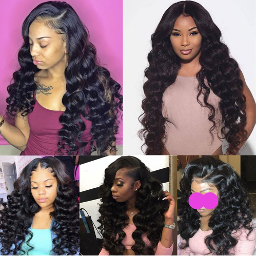 Brazilian LacBrazilian Lace Front Wigs Human Hair Wig Loose Deep Hair Pre Plucked Lace Closure Wig With Baby Hair