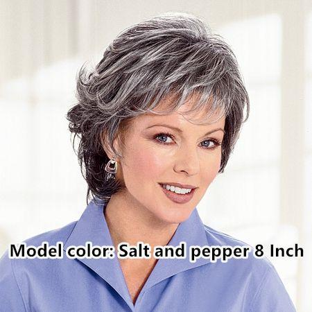 Grey topper and more color white salt and pepper {2021 New}
