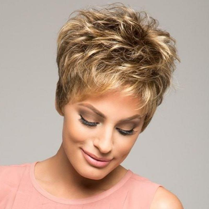 Autumn Extra-Thick Short Wig-003