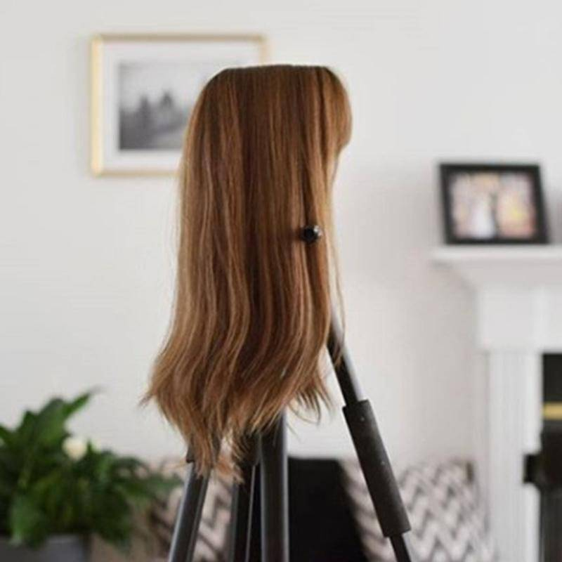High quality new favorite clip-in hair topper with bangs
