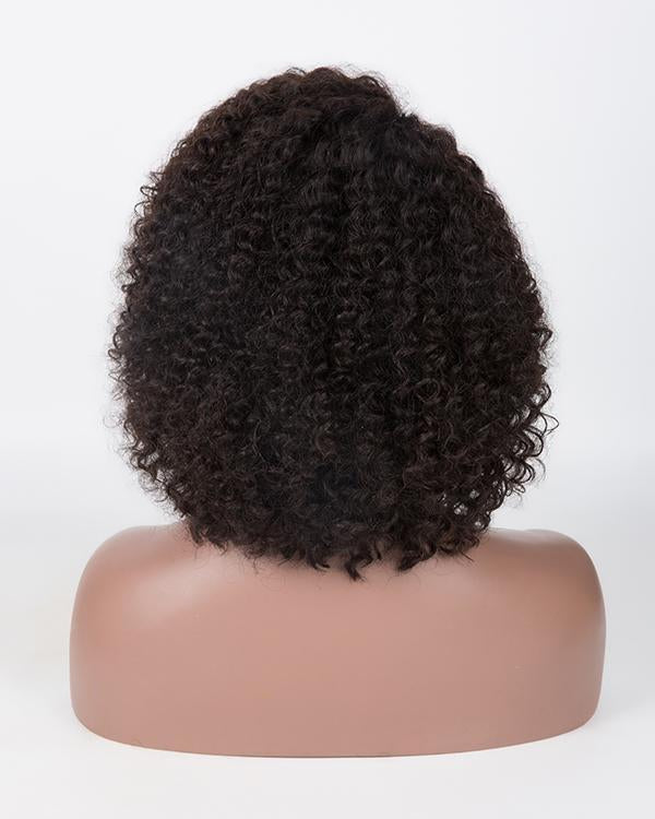 Charming black front lace short curly wig£¨Fashion style£©
