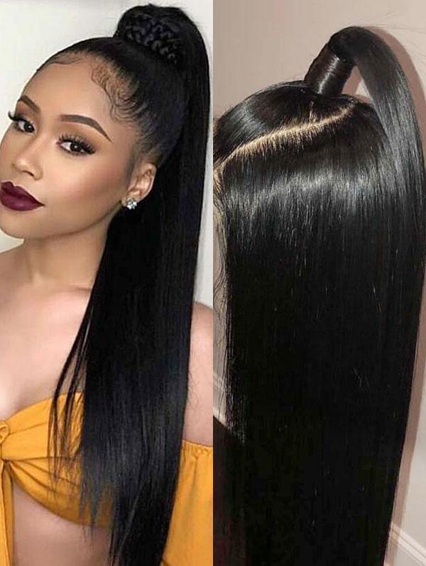 150% Density 360 Lace Wig Straight Human Hair