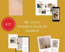 Load image into Gallery viewer, The Canva Pack for Business