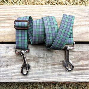 Plaid Leg Straps (pair)