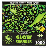 Frightful Toys Glow in the Dark 1,000 Piece Jigsaw Puzzle, Ages 10+