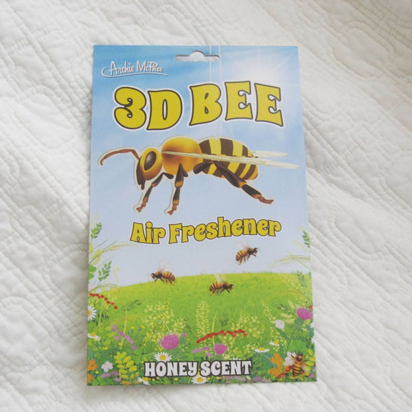 3-D Bee Honey Scented Air Freshener