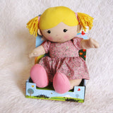 """Ella"" Organic Cotton Best Friend Doll by Apple Park, Ages 18 mo.+"