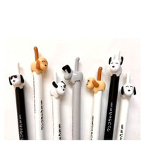 Doggie Gel Pen, Push and Click the Tail, Premium Pen by BC Mini