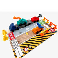 "Construction Erasers Set, Finely Detailed Japanese ""Puzzles"", Ages 5+"