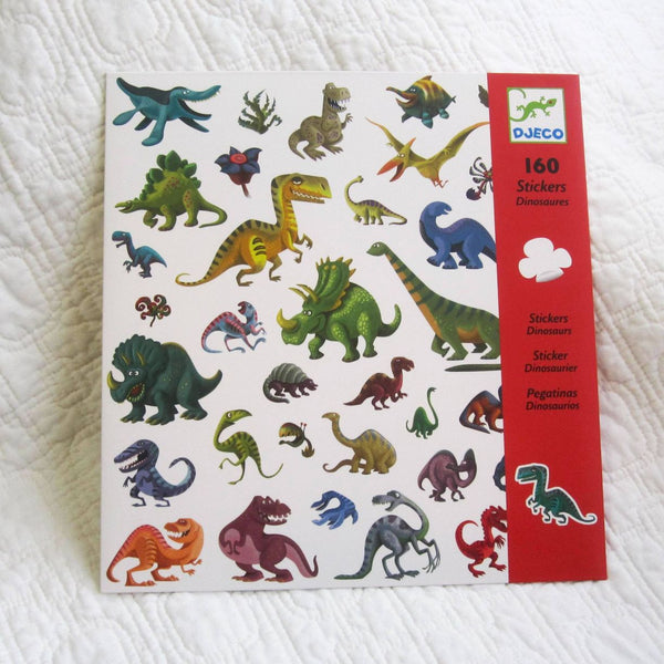 Dinosaur Stickers by Djeco, Ages 3+