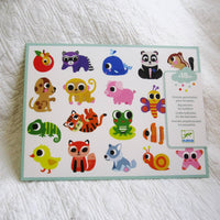 Baby Animals Big Stickers for Toddlers, Ages 18 mo.+