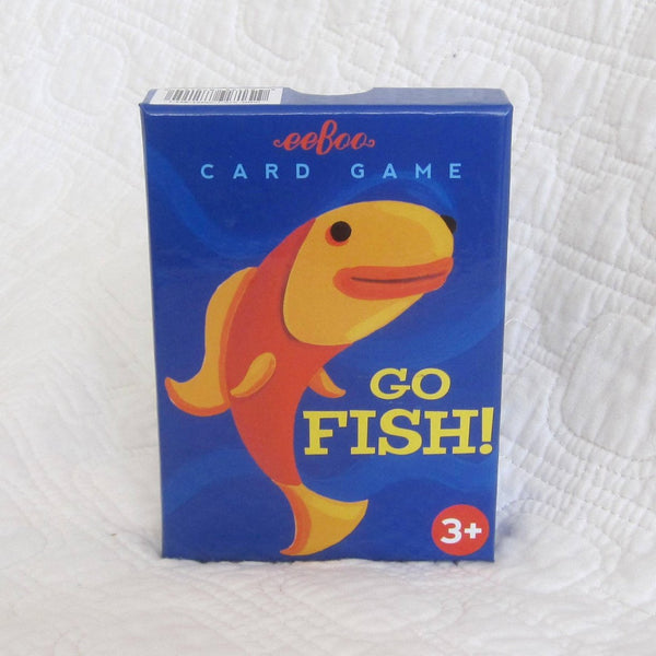 eeboo Go Fish, Classic Card Game, Ages 3+