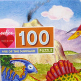 Age of the Dinosaur 100 Piece Puzzle, Ages 5+