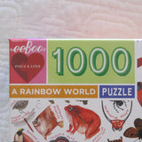 A Rainbow World 1000 Piece Puzzle, Ages 8 - Adult