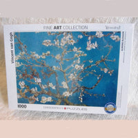 """Almond Blossoms"" by van Gough Jigsaw Puzzle, 1,000 pieces, Ages 9 - Adult"
