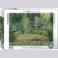 """The Japanese Footbridge"" by Monet, Jigsaw Puzzle, 1,000 Piece, Ages 8 - Adult"