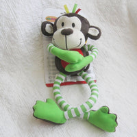 Happy Monkey Plush Discovery Toy, Ages 0 mo+