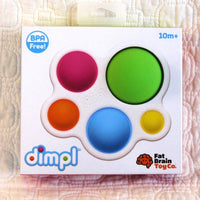 Dimpl Sensory Baby and Toddler Toy, Push and Pop Big Buttons, Ages 10 mo.+