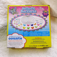 Butterfly Necklaces Craft Kit, Ages 7+