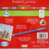 Faber-Castell Grip Colored Ecopencil, 24 ct., Ages 5+
