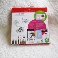 Faber-Castell Drawing and Sketching Kit, Ages 9+