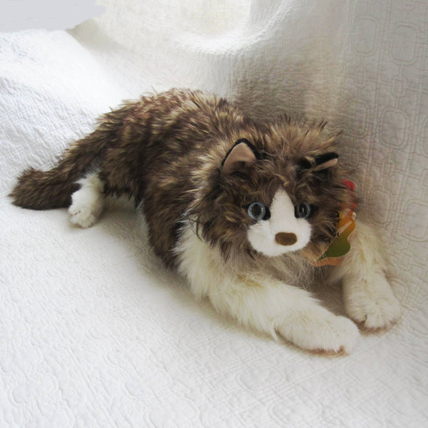 Realistic Ragdoll Cat Puppet by Folkmanis, Ages 4+