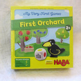 "HABA ""My First Orchard"" Cooperative Game, German Wood, Ages 2+"