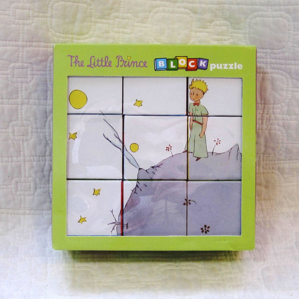 Little Prince Block Puzzle, Sweet Illustrations, Ages 12 mo. - 3 years