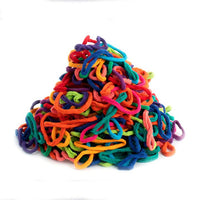 Potholder Loops, Bright Color Assortment, US Made