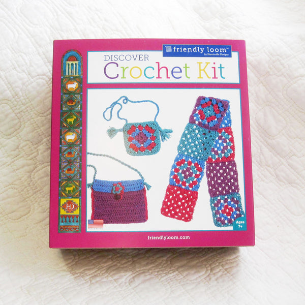 Crochet Kit, US Made, Ages 7+