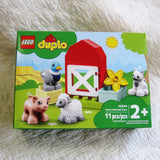 LEGO DUPLO Farm Animal Buildable Playset, 11 Pieces, Ages 2+