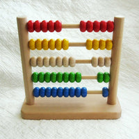 Wooden Abacus Made by BAJO, Ages 18 mo.+