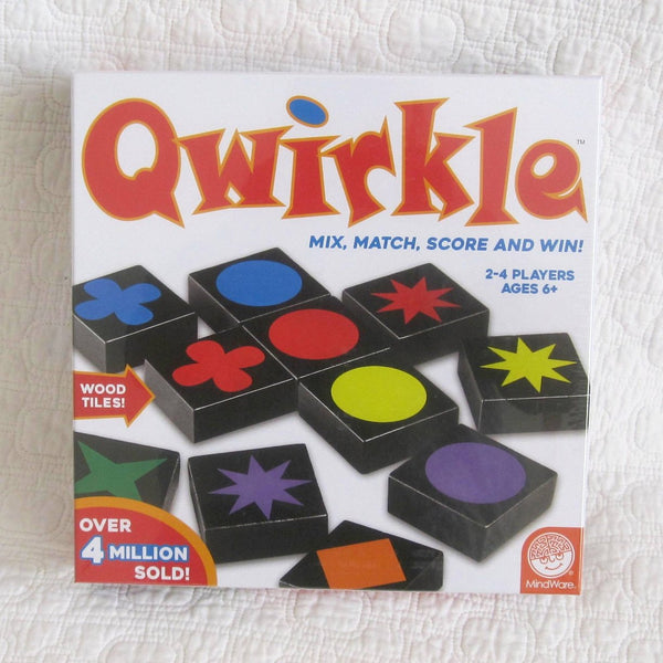 Qwirkle Board Game, A Family Favorite, Ages 6+