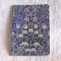 Mini Notebook, Columbine Print, V & A Museum Collection
