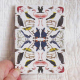 Mini Notebook, Birds Collage, Museum of Natural History