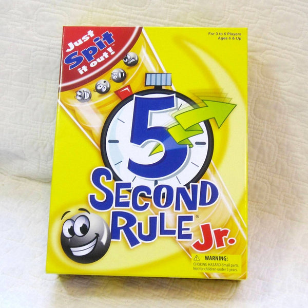 5 Second Rule Jr. , Family Fun for Ages  6 - 15 years