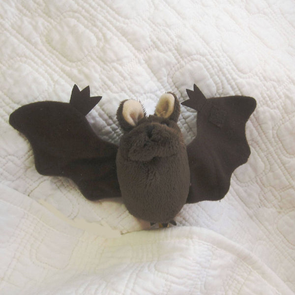 Brown Bat Finger Puppet, Ages 12 mo+