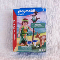 Playmobil Fairy With Deer Play Set, Ages 4+