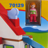 Playmobil Big Busy House, Playhouse with Furniture and People, Ages 18 mo.+,