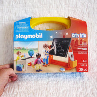 "Playmobil ""Classroom Play"" Carry Case Play Set, Ages 4+"