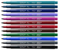 LePen Flex Felt Tip Pen, Fineline for Drawing or Writing, Flexible Brush Tip