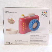 Plan Toys First Camera, Ages 18 mo+