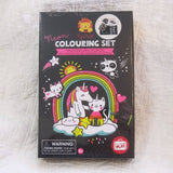 Unicorn and Friends Neon Coloring Boxed Set, Ages 5+