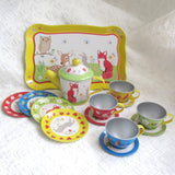Forest Friends Tin Tea Set, Ages 3+