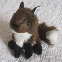 Fox Mini Finger Puppet by Folkmanis, Fuzzy and Fun, Ages 3+
