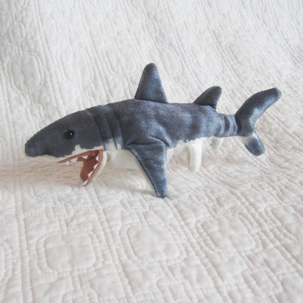 Shark Mini Finger Puppet by Folkmanis, Ages 3+