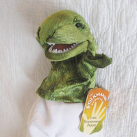 Little T-Rex Hand Puppet by Folkmanis, Child Size, So Ferocious! Ages 3+