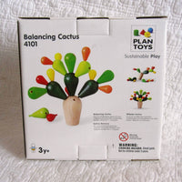 Balancing Cactus Stacking Game by Plan Toys, Ages 3+, Sustainably Made, Wood